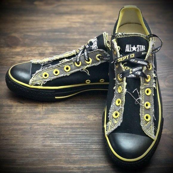 "Converse All Star Low Top ""Bruinz"" Shoes Men's 8"